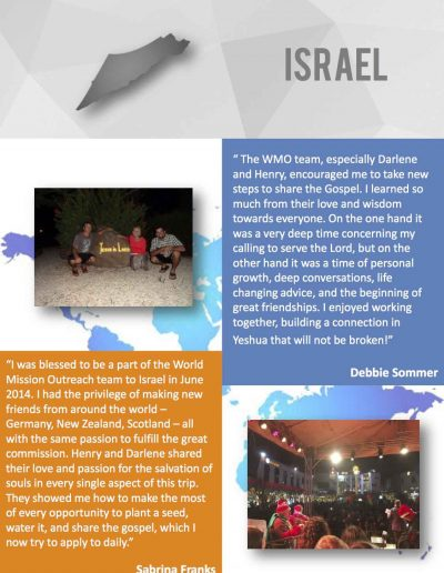 World-Mission-Testimonies - Israel:2