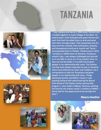 World-Mission-Testimonies - Tanzenia